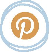 Pinterest logo for blog