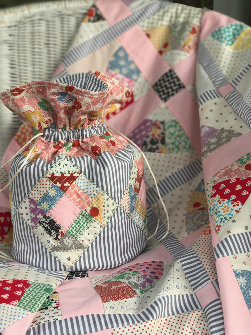 Sorbet Bag and Quilt